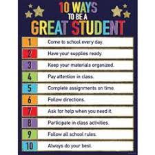 Chart For School Charts Posters K 12 School Supplies