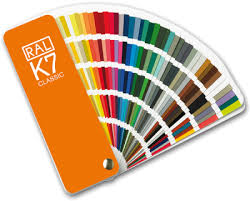 Bs To Ral Conversion Chart Ral K5 Fan