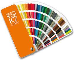 Ral K7 Colour Chart Ral K5 Fan
