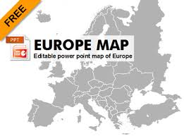 Free Interactive Maps For Powerpoint Free Editable Powerpoint Map Of Europe Graphic Flash Sources