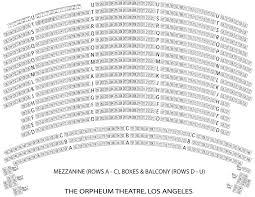 Orpheum Theater Seating Chart Omaha Ne Orpheum Theatre Vancouver Seating Chart With Seat Numbers