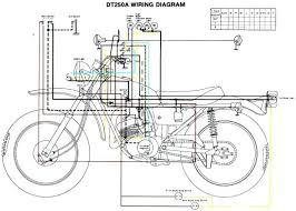 yamaha xt 125 r wiring diagram wiring diagram 1974 Yamaha DT1 250 Enduro at Yamaha 1973 Dt3 250 Wiring Diagram
