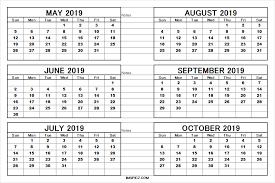 printable 6 month calendar 2019 calendar 6 month hashtag bg