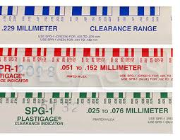 Bearing Clearance Chart Pdf Plastigauge Engine Bearing Clearance Checker