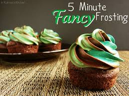 5 Minute Fancy Frosting
