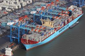 In global race for megaships, lines think size is everything