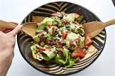 bibb lettuce salad with blueberry vinaigrette