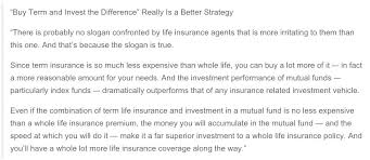 Quotes For Whole Life Insurance