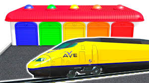Super Train Colors For Kids Learning Educational Video Learn