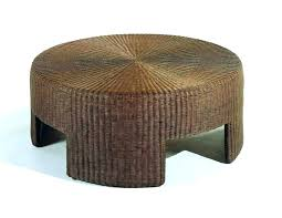 round wicker coffee table rattan ottoman coffee table stylish round wicker coffee table good designs for