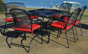 kettler black and red dining