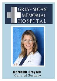 Anatomy Anatomy In - Stickers Grey Greys Meredith Badge Id 2019