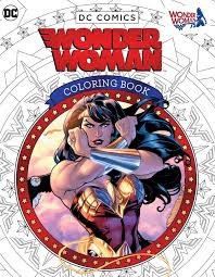 amazon dc ics wonder woman coloring book 9781608878925 insight editions books