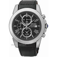 men s seiko alarm chronograph solar powered watch ssc193p2 mens seiko alarm chronograph solar powered watch ssc193p2