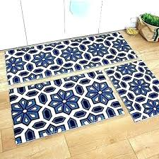 blue memory foam bath mat 3 memory foam bath rug set runners runner minimalist kitchen rugs