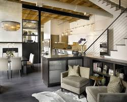 Industrial Living Room by jamesthomas Interiors