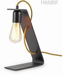 Dutch Design Lamp The Steel Helder Dutch Design Mat Zwart