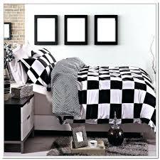 buffalo check bedding grey