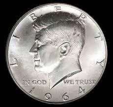 1960 Half Dollar Value Chart Selling Kennedy Half Dollar Silver Coins Jfk 1964 Half