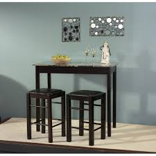 3 piece counter height dining sets