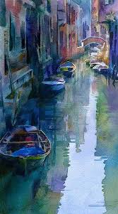 artist stan miller watercolor venice is the perfect setting for watercolors