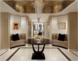 popular round entry hall table with the eye catching round foyer table bobreuterstl