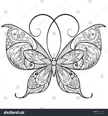 56 Elegant Ideas For Butterfly Coloring Pages For Adults Coloring
