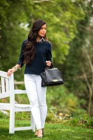 Stylish white pants ideas for ladies Outfit What To Wear With White Pants Visit Stylishlymecom To Read Some Tips On Stylishlyme What To Wear With White Jeans Your Ultimiate Guide