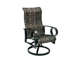 watermark living rattan swivel rocker rocking chair outdoor wicker patio chairs glider innovative dining unique wick