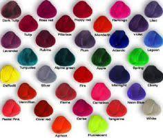 Unnatural Hair Color Chart 72 Best Hair Images Hair Cool Hairstyles Hair