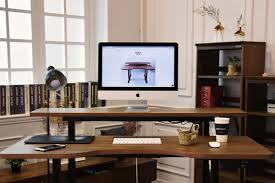 there is a long list of standing desks that promise to improve your posture and help ease the neck pain many people suffer as they sit and stare at a