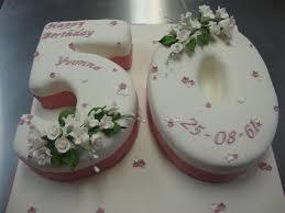 Large Number 50 Cake Celebration Cakes Cakeology
