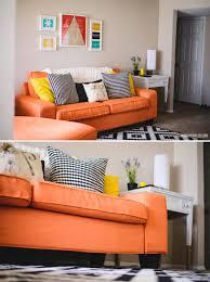 Orange Couch Living Room Custom Kivik Sofa Cover Review Sofa Covers Ikea And Blog
