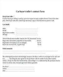 Used Car Sale Agreement Template Used Car Sale Agreement Format Co Template Pdf Contract