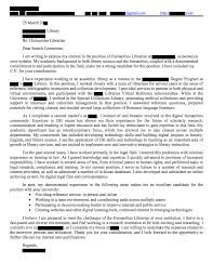 Library Media Assistant Cover Letter Sarahepps Com