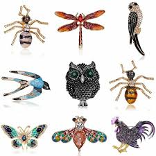 details about new crystal dragonfly erfly bird brooch pin charm women jewelry gifts
