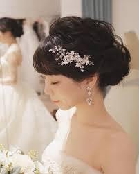 大人っぽく色っぽく黒髪花嫁さんのヘアアレンジたっぷり13選 Marry