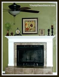black marble fireplace facing