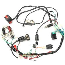 50cc 70cc 90cc 110cc cdi wire harness assembly wiring kit atv 50cc 70cc 90cc 110cc cdi wire harness assembly wiring kit atv electric start quad