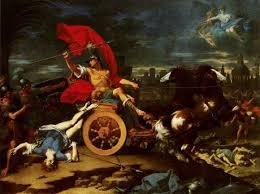 Achilles Dragging the Corpse of Hector by Donato Creti | Полотна ...