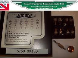 xk150 complete correct fuse box assembly kit 5750k image is loading xk150 complete correct fuse box assembly kit 5750k