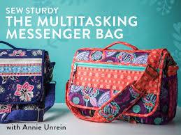 Messenger Bag Pattern Best Sew Sturdy The Multitasking Messenger Bag Craftsy