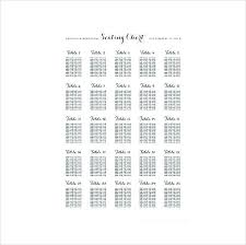 Seating Chart Maker For Teachers Wedding Seating Chart Maker Lovely List Template Free