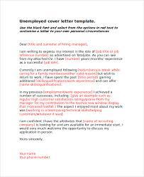 8 Basic Cover Letter Samples Sample Templates