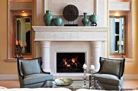 decorating fireplace mantel
