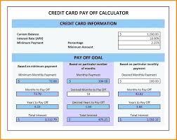 Credit Card Debt Excel Template Credit Card Interest Worksheet Debt Spreadsheet