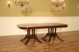 Extra Large Formal Mahogany Dining Table For Traditional Dining Room