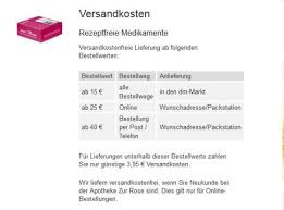 Dm online apotheke zur rose