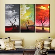wall art panels of 3 on 3 panel wall art set with 7 wall art panels of 3 sepia horse 3 panel split canvas wall art