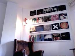 record display shelf record display shelf vinyl record wall display vinyl record wall shelf far fetched